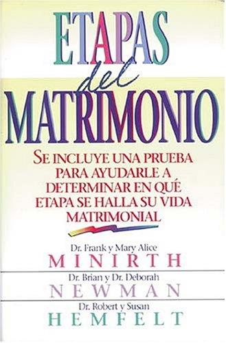 9780881131895: Etapas del Matrimonio