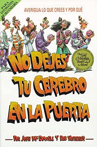 9780881131970: No Dejes Tu Cerebro En La Puerta