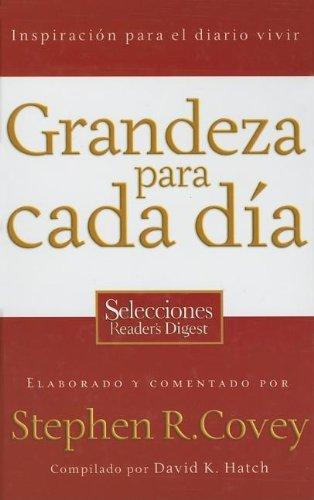 9780881139945: Grandeza Para Cada Dia/ Everyday Greatness (Spanish Edition)