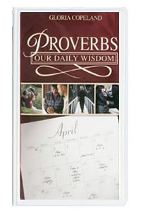 9780881149289: Proverbs Our Daily Wisdom by Gloria Copeland on 6 Audio Tapes