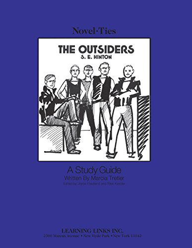 9780881220308: The Outsiders: Novel-Ties Study Guide