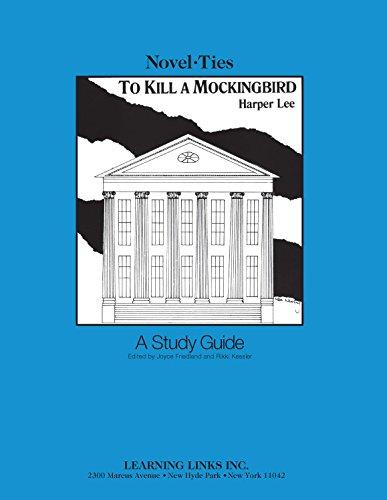 9780881220339: To Kill a Mockingbird: Novel-Ties Teachers Study Guide