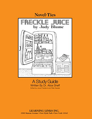 9780881220667: Freckle Juice: Novel-Ties Study Guide