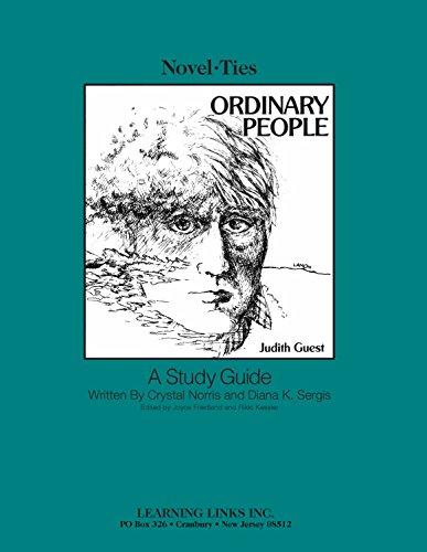 9780881221220: Ordinary People: Novel-Ties Study Guide