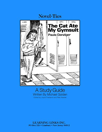 9780881227154: Cat Ate My Gymsuit: Novel-Ties Study Guide