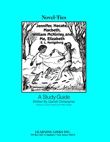 9780881228991: Jennifer,Hecate, Macbeth, W. Mckinley and Me, Elizabeth: Novel-Ties Study Guide