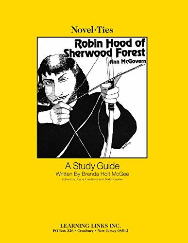 9780881229097: Robin Hood of Sherwood Forest: Novel-Ties Study Guide