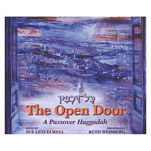 9780881230789: The Open Door: A Passover Haggadah (English and Hebrew Edition)