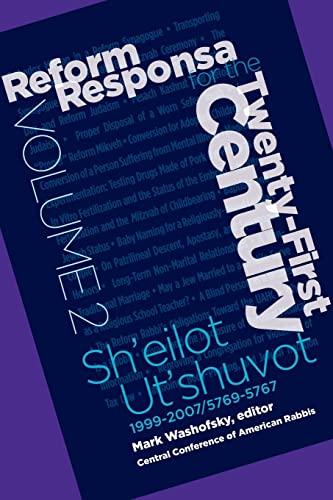 9780881231618: Reform Responsa for the Twenty-First Century Volume 2