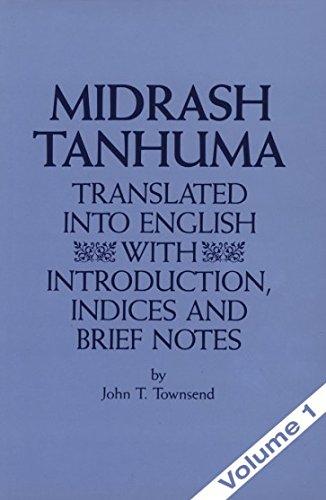 Midrash Tanhuma, Vol. 1: Townsend, John T.