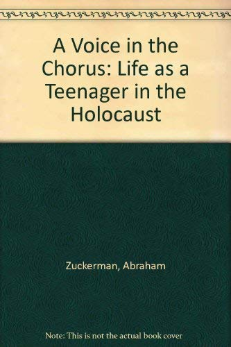9780881253696: A Voice in the Chorus: Memories of a Teenager Saved by Schindler
