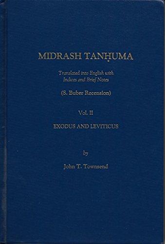 9780881253795: Midrash Tanhuma, Vol. 2
