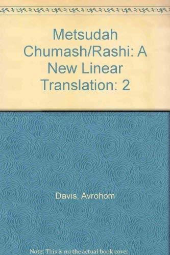 The Metsudah: Chumash/Rashi, A New Linear Translation,: Nachum Y. Kornfeld