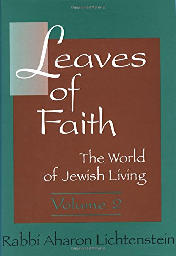 9780881256680: Leaves of Faith: The World of Jewish Living Volume 2