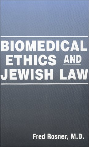 9780881257014: Biomedical Ethics and Jewish Law