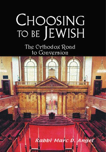 9780881258905: Choosing to Be Jewish: The Orthodox Road to Conversion