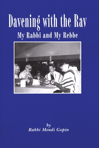 9780881259353: Davening With the Rav: My Rabbi and My Rebbe