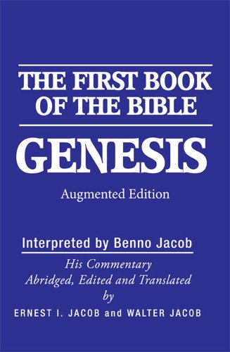 9780881259605: Genesis: The First Book of the Bible: Augmented Edition