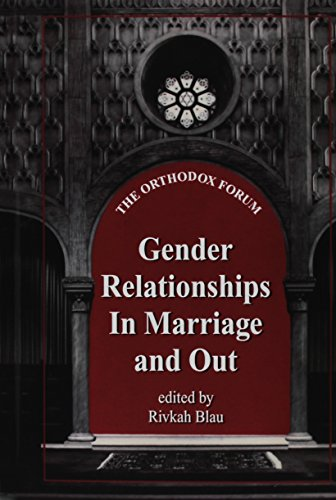 9780881259711: Gender Relationships in Marriage and Out