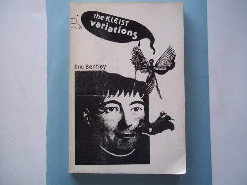 Kleist Variations (0881270105) by Eric Bentley