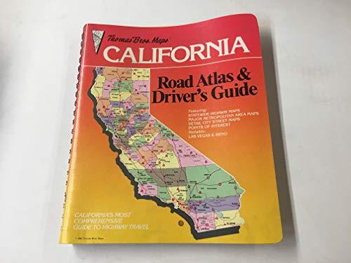 California Road Atlas, 1986: Thomas Brothers Maps