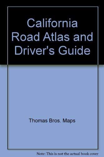 California road atlas & driver's guide: Maps, Thomas Bros.