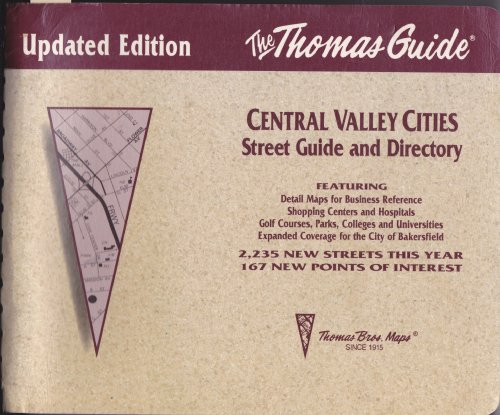9780881305296: Central Valley Cities, 1993