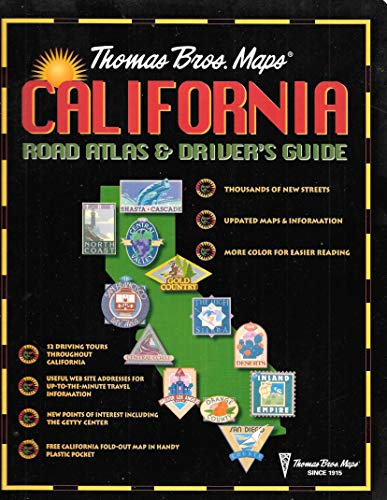California Road Atlas and Driver's Guide: Thomas Brothers Maps