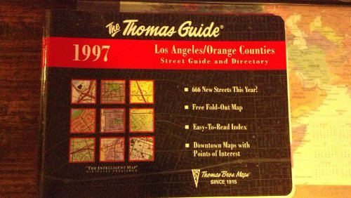 9780881308204: Los Angeles, Orange Counties Street Guide and Directory, 1997 (Annual)