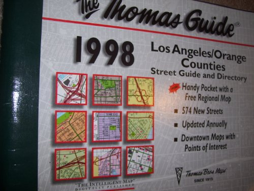 Los Angeles Orange Counties Street Guide and: Thomas Bros. Maps