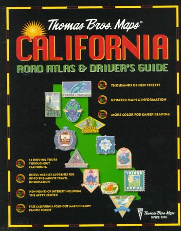 California Road Atlas & Driver's Guide (Annual): Thomas Bros. Maps