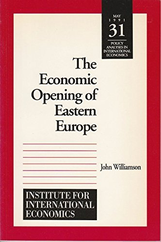 9780881321869: The Economic Opening of Eastern Europe (Policy Analyses in International Economics)