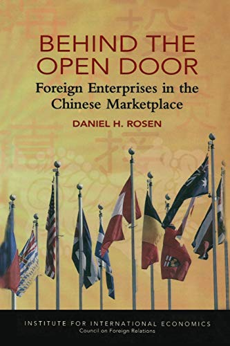 9780881322637: Behind the Open Door: Foreign Enterprises in the Chinese Marketplace