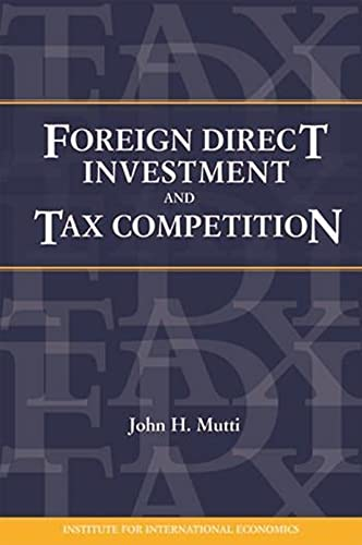 9780881323528: Foreign Direct Investment and International Taxation (Policy Analyses in International Economics)