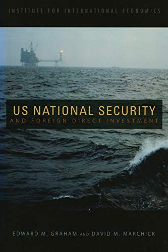 9780881323917: U.S. National Security and Foreign Direct Investment