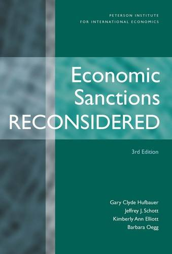 9780881324075: Economic Sanctions Reconsidered