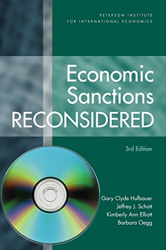9780881324310: Economic Sanctions Reconsidered 3e (Peterson Institute for International Economics)