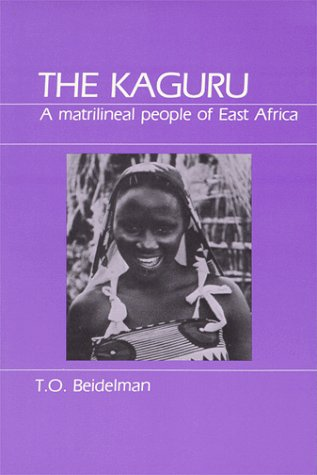 9780881330601: Kaguru: A Matrilineal People of East Africa