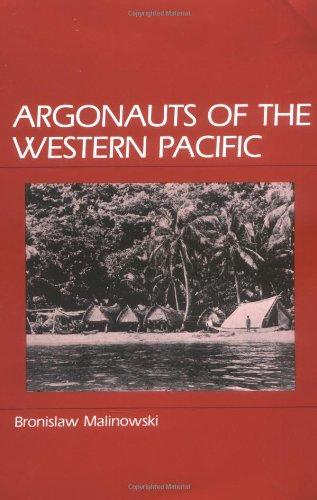 9780881330847: Argonauts of the Western Pacific