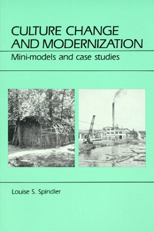 9780881330892: Culture Change and Modernization: Mini-Models and Case Studies