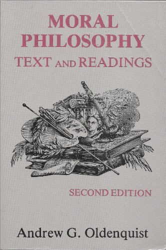 9780881331042: Moral Philosophy: Text and Readings