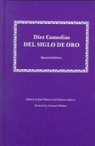 9780881331196: Diez Comedias del Siglo de Oro (Spanish and English Edition)