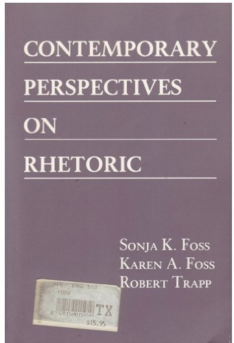 Contemporary Perspectives on Rhetoric.