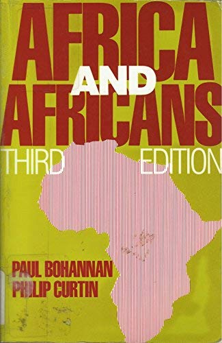 9780881333473: Africa and Africans