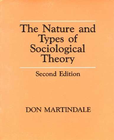The Nature and Types of Sociological Theory: Martindale, Don