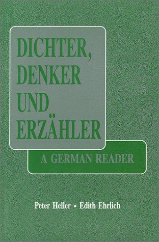 9780881334326: Dichter Denker Und Erzahler: A German Reader