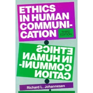 9780881335026: Ethics in Human Communication