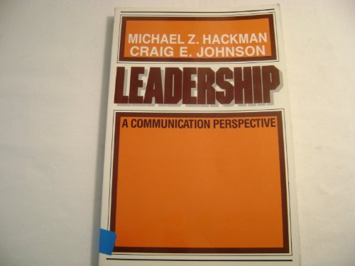 9780881335330: Leadership: A Communication Perspective