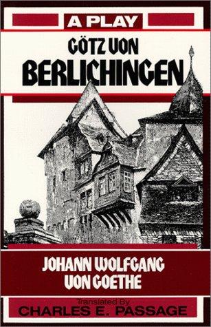 9780881335415: Gotz Von Berlichingen: A Play