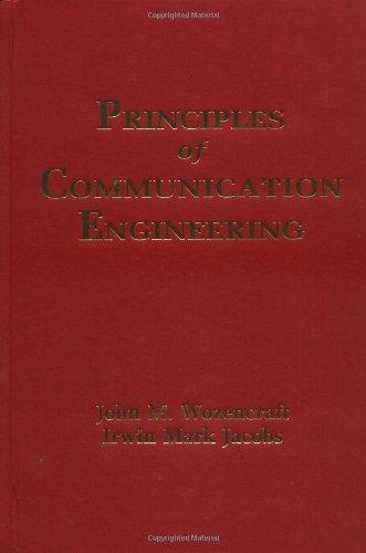 9780881335545: Principles of Communication Engineering
